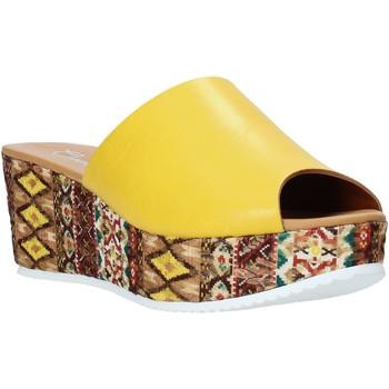 Chaussures Femme Mules Grace Shoes 10 Jaune