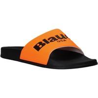 Chaussures Homme Claquettes Blauer S0BAY02/FLU Orange