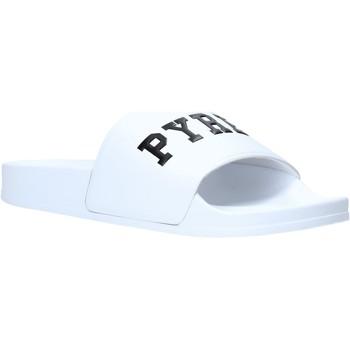 Chaussures Homme Claquettes Pyrex PY020167 Blanc