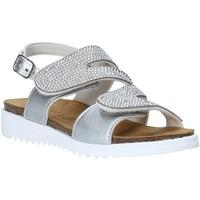 Chaussures Fille Sandales et Nu-pieds Grunland SB1559 Argent