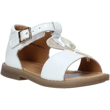 Chaussures Fille Sandales et Nu-pieds Grunland PS0063 Blanc