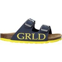 Chaussures Enfant Mules Grunland CB2420 Bleu