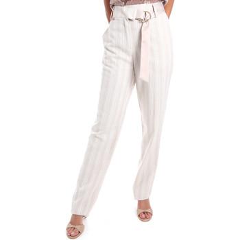Vêtements Femme Chinos / Carrots Fracomina FR20SM565 Beige