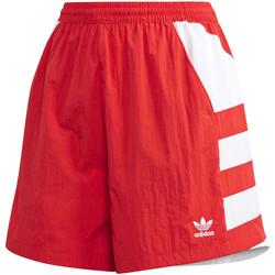 Vêtements Femme Shorts / Bermudas adidas Originals FM2637 Rouge