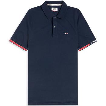Vêtements Homme Polos manches courtes Tommy Jeans DM0DM07803 Bleu