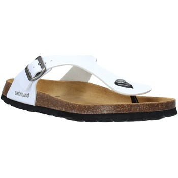 Chaussures Homme Tongs Grunland CB3014 Blanc