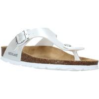 Chaussures Enfant Tongs Grunland CB2419 Blanc