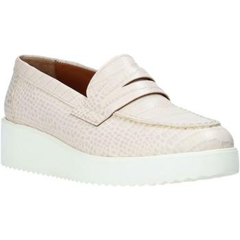 Chaussures Femme Mocassins Maritan G 161407MG Blanc