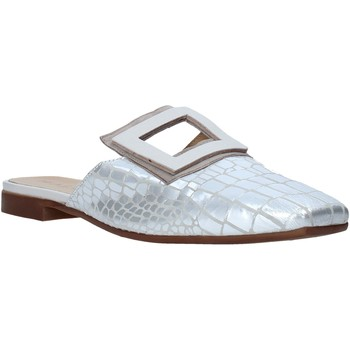 Chaussures Femme Sabots Mally 6886 Argent