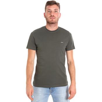 Vêtements Homme T-shirts manches courtes Les Copains 9U9011 Vert