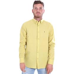 Vêtements Homme Chemises manches longues Les Copains 9U2371 Jaune