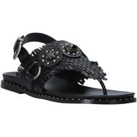 Chaussures Femme Sandales et Nu-pieds Mally 6562 Noir