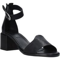 Chaussures Femme Sandales et Nu-pieds Mally 6866G Noir
