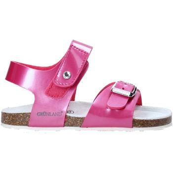 Chaussures Enfant Sandales et Nu-pieds Grunland SB0375 Rose