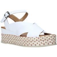 Chaussures Femme Sandales et Nu-pieds Bueno Shoes Q5901 Blanc