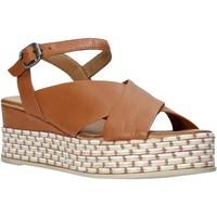 Chaussures Femme Sandales et Nu-pieds Bueno Shoes Q5901 Marron
