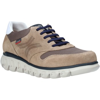 Chaussures Homme Baskets basses CallagHan 12912 Marron
