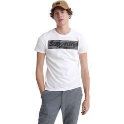 Vêtements Homme T-shirts manches courtes Superdry M1000069A Blanc