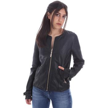 Vêtements Femme Vestes en cuir / synthétiques Gaudi 011BD38001 Noir