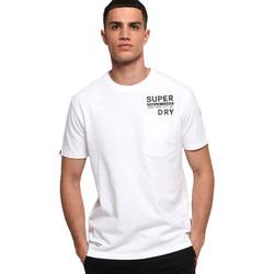 Vêtements Homme T-shirts manches courtes Superdry M1000040A Blanc
