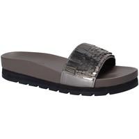 Chaussures Femme Claquettes Apepazza MMI02 Gris