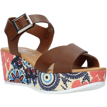 Chaussures Femme Sandales et Nu-pieds Grace Shoes 12 Marron