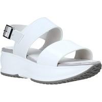 Chaussures Femme Sandales et Nu-pieds Lumberjack SW84406 001 Y22 Blanc