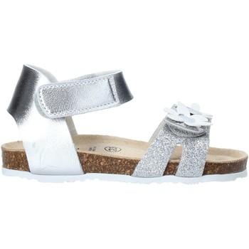Chaussures Fille Sandales et Nu-pieds Grunland SB1545 Argent