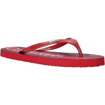 Chaussures Femme Tongs Calvin Klein Jeans E8854 Rouge