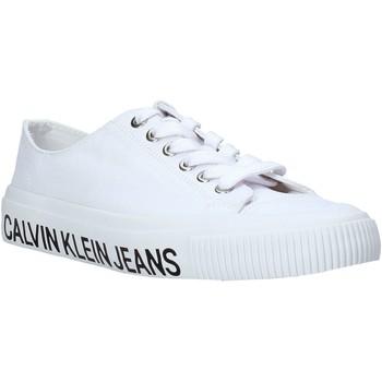 Chaussures Femme Baskets basses Calvin Klein Jeans B4R0807X Blanc