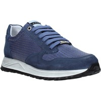 Chaussures Homme Baskets basses Exton 751 Bleu