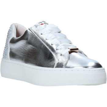 Chaussures Femme Baskets basses Love To Love TER32 Argent