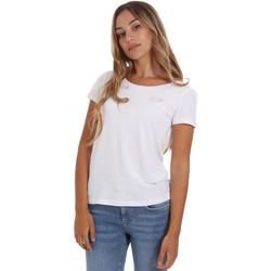 Vêtements Femme T-shirts manches courtes Ea7 Emporio Armani 8NTT64 TJ28Z Blanc