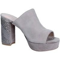 Chaussures Femme Mules Alma En Pena V18256 Gris