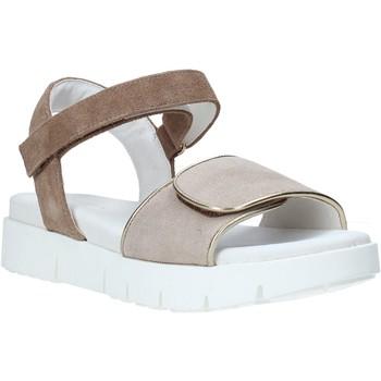 Chaussures Femme Sandales et Nu-pieds Lumberjack SW84106 003 Q03 Beige