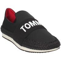 Chaussures Femme Slip ons Tommy Hilfiger EN0EN00096 Noir