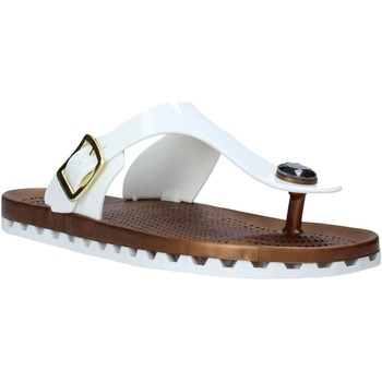 Chaussures Femme Tongs Sensi 4050/P Blanc