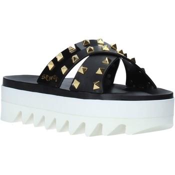 Chaussures Femme Mules Sensi 4380/LX Noir