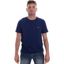 Vêtements Homme T-shirts manches courtes Navigare NV31126 Bleu