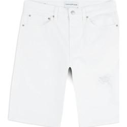 Vêtements Homme Shorts / Bermudas Calvin Klein Jeans J30J314643 Blanc