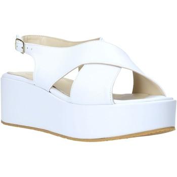Chaussures Femme Sandales et Nu-pieds Esther Collezioni Z039 Blanc
