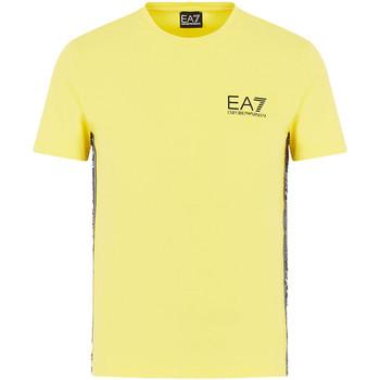 Vêtements Homme T-shirts manches courtes Ea7 Emporio Armani 3HPT07 PJ03Z Jaune