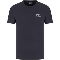 Vêtements Homme T-shirts manches courtes Ea7 Emporio Armani 8NPT51 PJM9Z Bleu