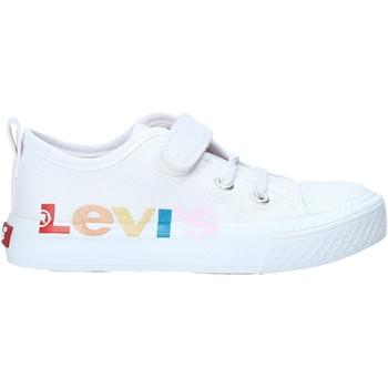 Chaussures Enfant Baskets basses Levi's VORI0013T Blanc