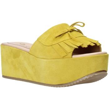 Chaussures Femme Mules Grace Shoes C3 Jaune