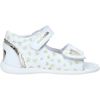 Chaussures Fille Sandales et Nu-pieds Melania ME0820A0S.B Blanc