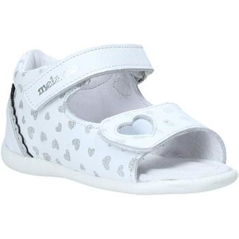 Chaussures Fille Sandales et Nu-pieds Melania ME0820A0S.A Argent