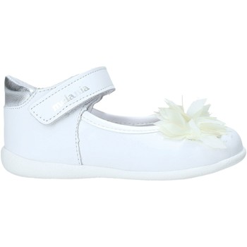 Chaussures Fille Ballerines / babies Melania ME0122A0S.B Blanc