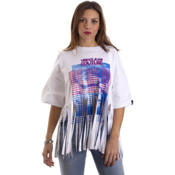 Vêtements Femme T-shirts manches courtes Versace B2HVB7V730384003 Blanc