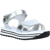Chaussures Fille Sandales et Nu-pieds Melania ME4107D0S.A Argent